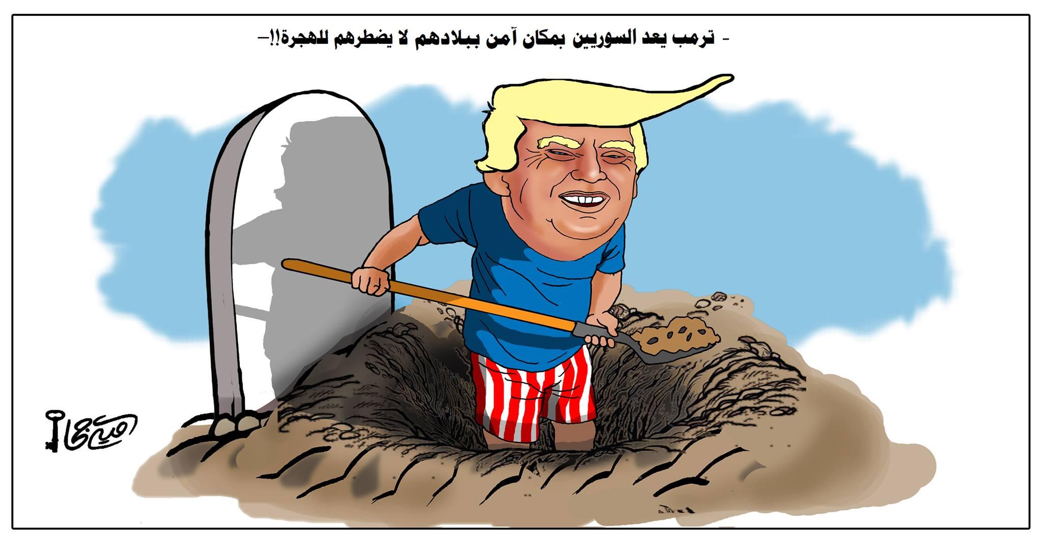 كاريكاتير أمية جحا