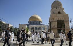 Dozens of Israeli settlers break into Al-Aqsa mosque