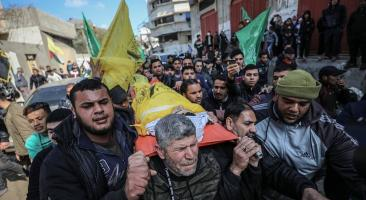 Funeral of the child Youssef Daya in Gaza