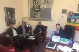 صور.. التجمع الفلسطيني يلتقي نواب من البرلمان الإيطالي