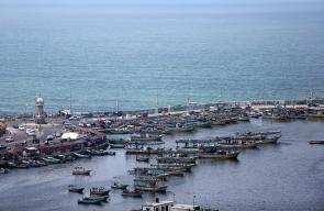 ركود في حركة إبحار الصيادين من ميناء غزة