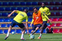 """شاهد: لقطة """"ساحرة"""" من ميسي خلال تدريبات برشلونة"""
