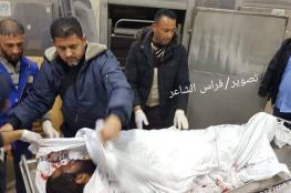 استشهاد مزارع وإصابة آخر جراء انفجارين في أراضٍ زراعية شرق رفح