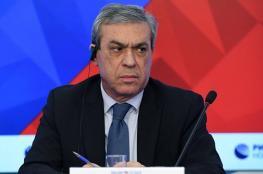 سفير السلطة لدى موسكو: جاهزون للتفاوض حول الكونفدرالية مع الأردن