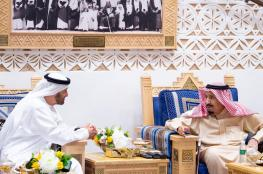 أول لقاء معلن منذ أزمة خاشقجي.. الملك السعودي يلتقي بمحمد بن زايد ولا ظهور لبن سلمان