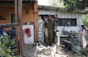 دمار في المستوطنات الإسرائيلية المحاذية لقطاع غزة