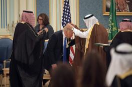 """الملك سلمان يرحب بـ""""الاستراتيجية الحازمة"""" لترامب تجاه إيران"""