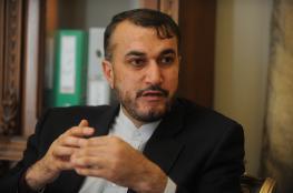 عبد اللهيان لشهاب: ندعو لدعم القضية الفلسطينية ومواجهة التطبيع مع الاحتلال