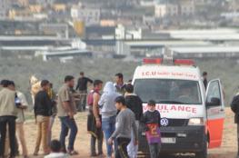 إصابة فتى برصاص الاحتلال وسط قطاع غزة