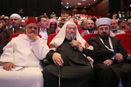 """""""علماء المسلمين"""" يرفض التطبيع مع الكيان الإسرائيلي ويدعو لإطلاق سجناء الرأي"""