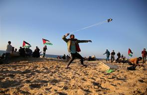 المسير البحري التاسع عشر شمال غزة