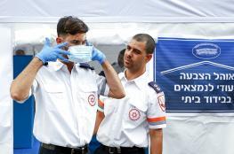 الاحتلال يعلن ارتفاع عدد المصابين بفيروس كورونا الى 573