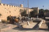 حفريات الاحتلال بالقدس تلحق أضراراً بمبنى إسلامي من القرن السابع