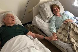 عاشا سوياً لـ 70 عاماً .. وتوفيا معاً بنفس اليوم!