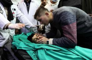 الشهيد الفتى محمد سلمان الحداد الذي أعدم بدم بارد برصاص الاحتلال