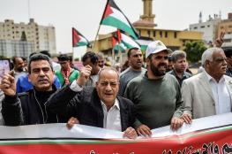 فعاليات فلسطينية واسعة دعما لإضراب الأسرى