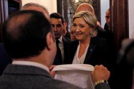 التقيتُ شيخَ الأزهر ولم أضع حجاباً.. مارين لوبان ترفض تغطية شعرها للقاء مفتي لبنان