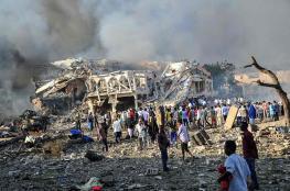 إصابة القائم بالأعمال القطري في تفجير مقديشو وارتفاع عدد الضحايا إلى أكثر من 90 قتيلا