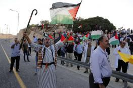 """مسيرة منددة بقرار الاحتلال بهدم """"الخان الأحمر"""""""