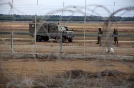 """الاحتلال يطلق النار على """"الضبط الميداني"""" شرقي البريج"""