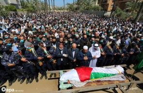 جماهير غفيرة تشيع جثمان القيادي بحماس أحمد الكرد