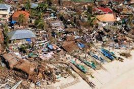 ارتفاع حصيلة ضحايا إعصار الفلبين إلى 126 قتيلا