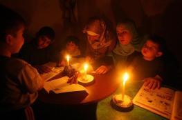 توقف أحد مولدي محطة توليد كهرباء غزة وانقطاع الخطوط المصرية