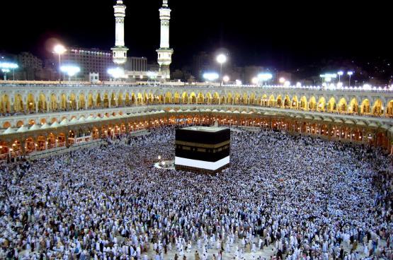 نحو نصف مليون حاج يصلون السعودية