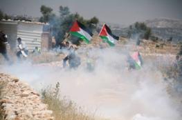 إصابة العشرات بالاختناق خلال قمع الاحتلال مسيرة بلعين الأسبوعية