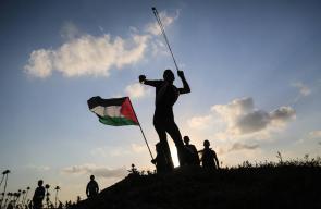 جمعة يوم الأسير في مسيرات العودة وكسر الحصار شرق قطاع غزة