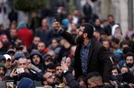 أجهزة السلطة تعتدي على الشيخ خضر عدنان في نابلس