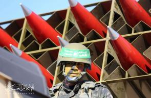عرض عسكري محمول لكتائب القسام في خانيونس