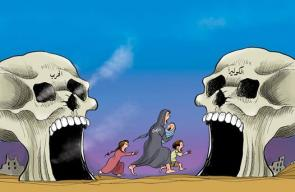 الكوليرا في اليمن   كاريكاتير د.علاء اللقطة