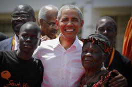 أوباما يزور مسقط رأس والده في كينيا