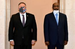 """الخرطوم: البرهان بحث مع الأمريكيين """"السلام مع إسرائيل"""""""