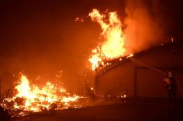 ترامب يهدد المسؤولين عن حرائق الغابات في كاليفورنيا