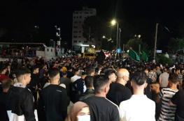 قوات السلطة اعترضتها.. مسيرة حاشدة برام الله اسنادا للقدس وغزة ودعما للمقاومة