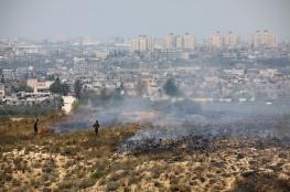 4 إصابات في صفوف الاحتلال نتيجة حرائق الطائرات الورقية