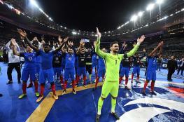 فرنسا تنتزع بطاقة التأهل للمونديال الروسي