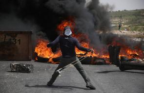 مواجهات مع قوات الاحتلال في الضفة الغربية دعمًا لمسيرات العودة
