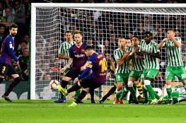 هاتريك ميسي يقود برشلونة لسحق ريال بيتيس