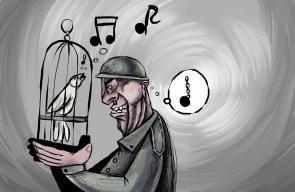 كاريكاتير سباعة   #اضراب_الكرامة