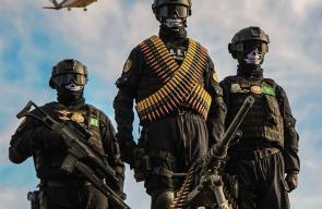 صور من التدريبات التي تجريها قوات الأمن الخاصّة السعودية