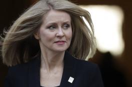 """وزيرة العمل في الحكومة البريطانية تستقيل احتجاجا على خطة """"بريكست"""""""