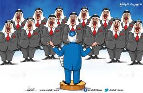 كاريكاتير د. علاء اللقطة   اسرائيل والعرب