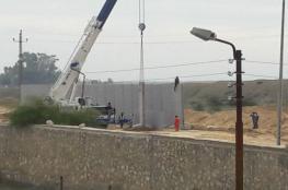 بخلاف الجدار الإسرائيلي.. القناة 7 العبرية: مصر بدأت بتشييد جدار جديد مع قطاع غزة