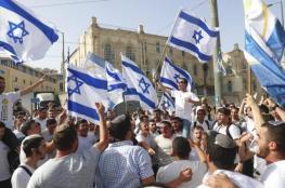"""القدس ترتقب """"ميسرة الأعلام"""".. الاحتلال يتأهب ودعوات للنفير للعام وسط تحذيرات المقاومة"""