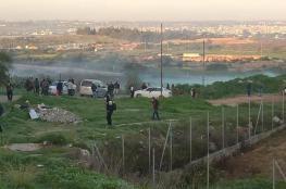 إصابة عدد من العمال برصاص الاحتلال جنوب قلقيلية