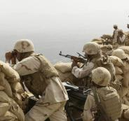 saudi-soldiers-khoba-frontline-border-post-yemen