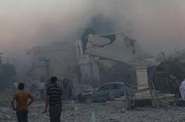 مجزرة مروعة غربي حلب والعشرات تحت الأنقاض